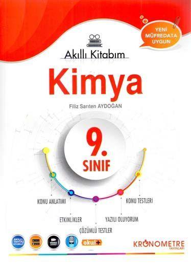 Kronometre Yayınları 9. Sınıf Kimya Akıllı Kitabım