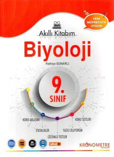 Kronometre Yayınları 9. Sınıf Biyoloji Akıllı Kitabım