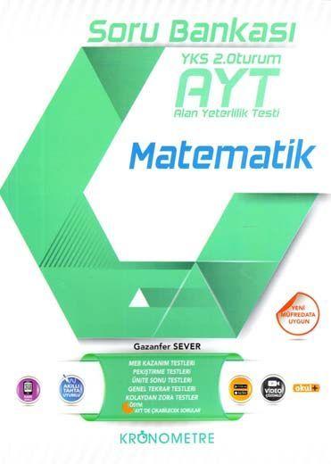 Kronometre Yayınları AYT Matematik Soru Bankası