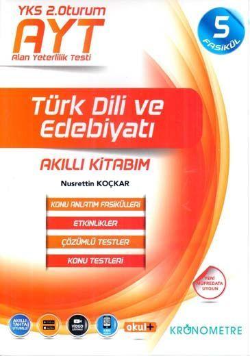Kronometre Yayınları AYT Türk Dili ve Edebiyatı Akıllı Kitabım 5 Fasikül