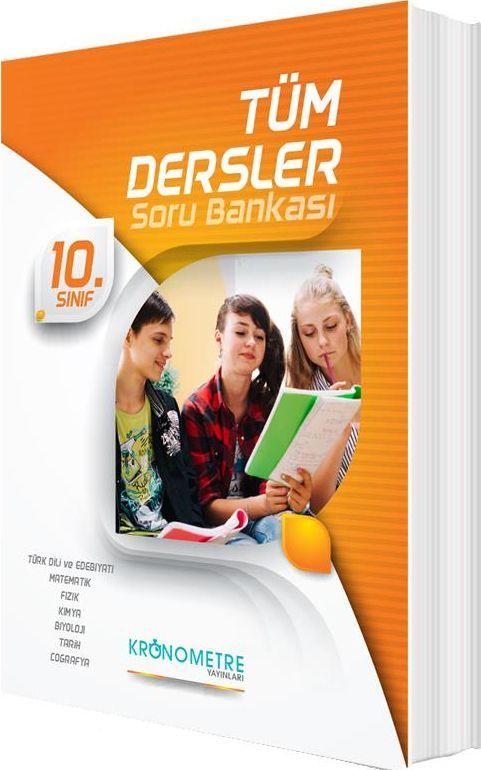 Kronometre Yayınları 10. Sınıf Tüm Dersler Soru Bankası