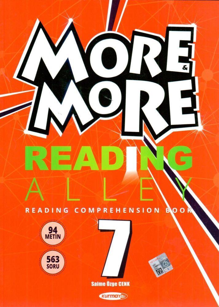 Kurmay ELT 7. Sınıf More More Reading Alley Comprehensıon Book