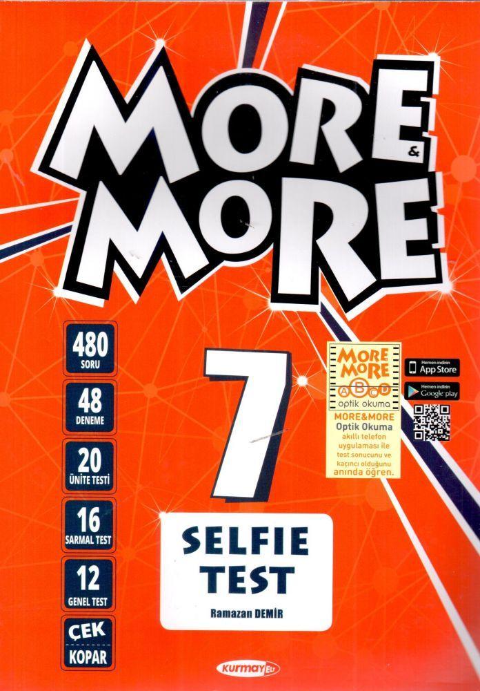 Kurmay ELT 7. Sınıf More More Selfie Test