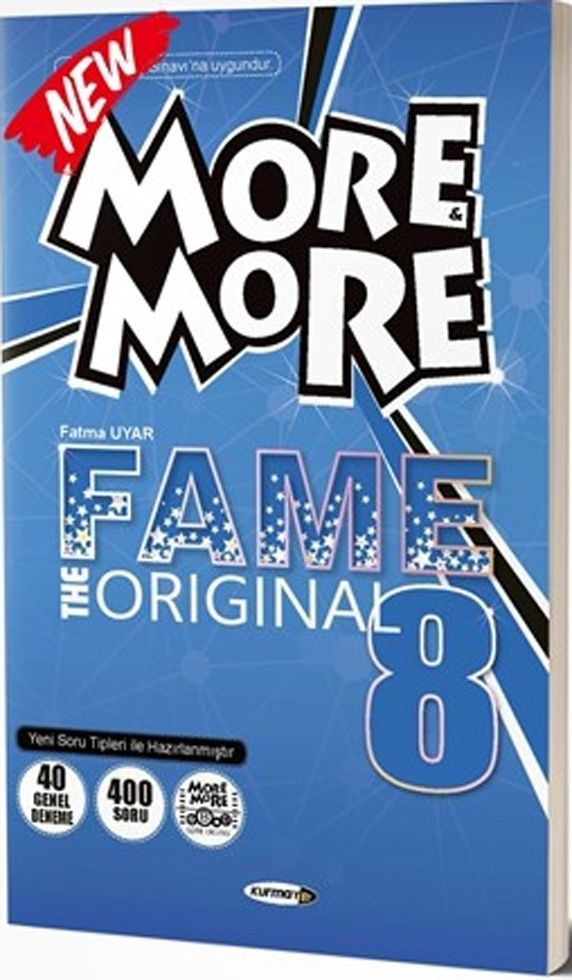 Kurmay ELT 8. Sınıf More More Fame The Original