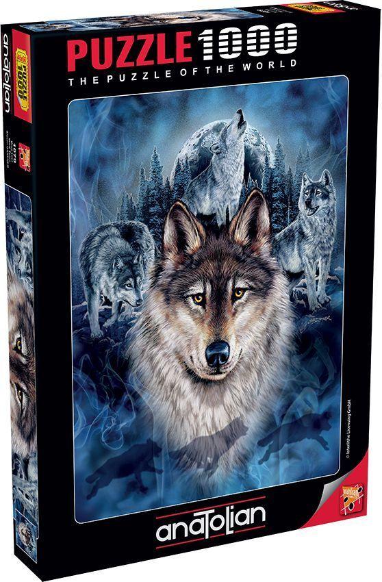Kurt Timi Wolf Team 1000 Parça Puzzle - Yapboz