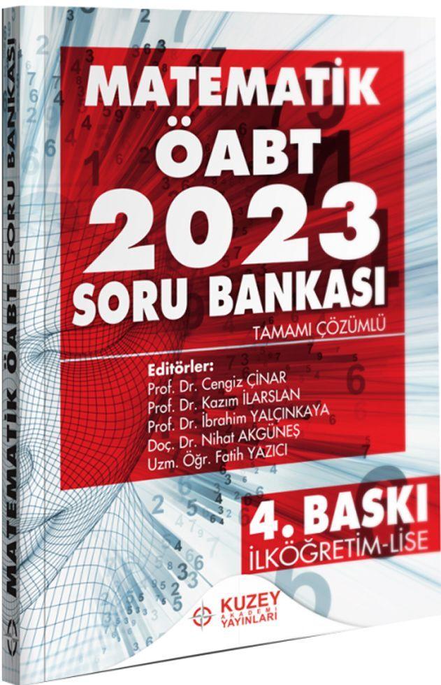 Kuzey Akademi Yayınları ÖABT İlköğretim Lise Matematik 2023 Soru Bankası