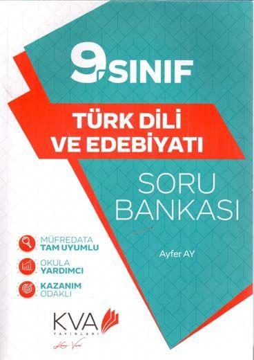 KVA Yayınları 9. Sınıf Türk Dili ve Edebiyatı Soru Bankası