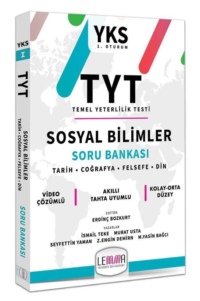 Lemma TYT Sosyal Bilimler Soru Bankası