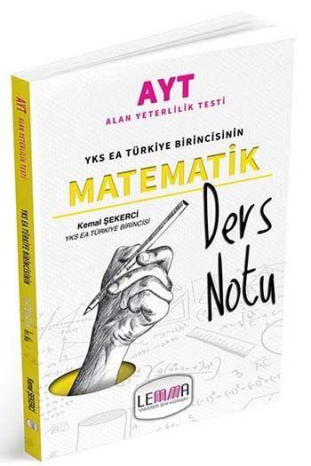 Lemma Yayınları AYT Matematik Ders Notu