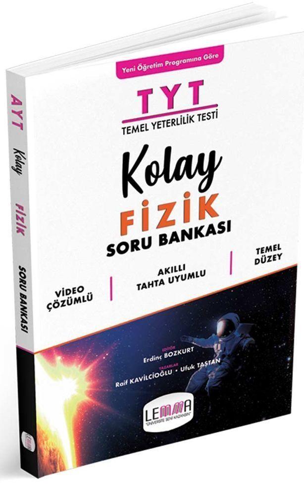 Lemma Yayınları TYT Kolay Fizik Soru Bankası