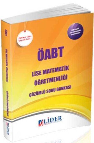 Lider Yayınları ÖABT Lise Matematik Öğretmenliği Soru Bankası