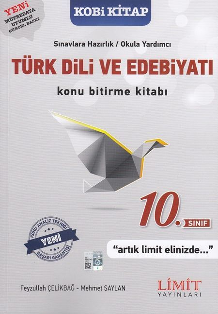 Limit Yayınları 10. Sınıf Türk Dili ve Edebiyatı Konu Bitirme Kitabı