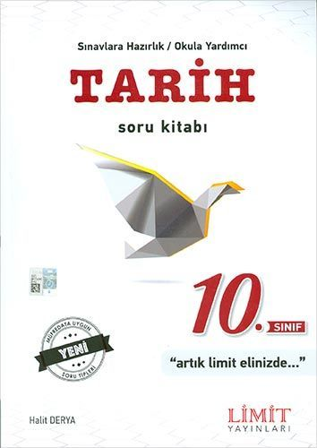 Limit Yayınları 10. Sınıf Tarih Soru Kitabı