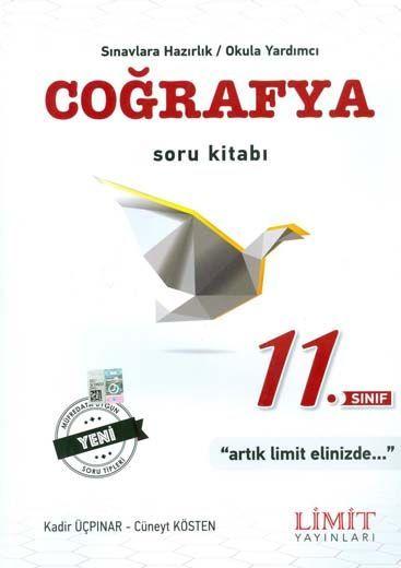 Limit Yayınları 11. Sınıf Coğrafya Soru Kitabı