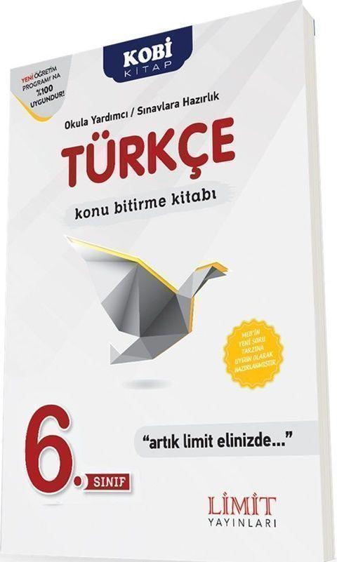Limit Yayınları 6. Sınıf Türkçe Konu Bitirme Kitabı
