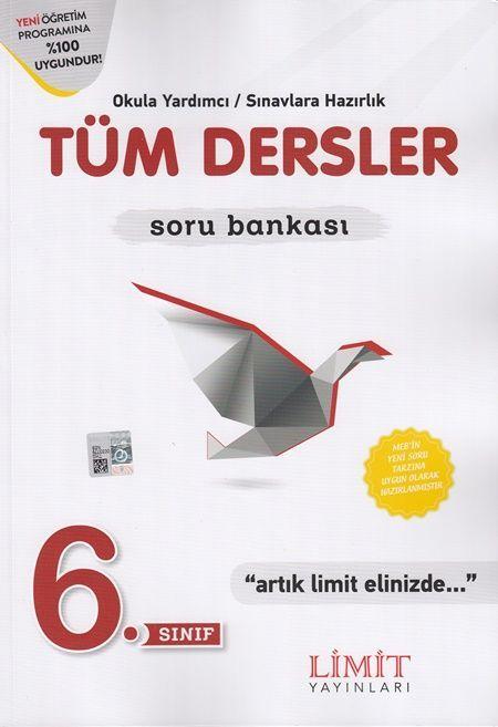 Limit Yayınları 6. Sınıf Tüm Dersler Soru Bankası
