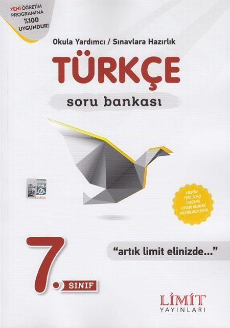 Limit Yayınları 7. Sınıf Türkçe Soru Bankası
