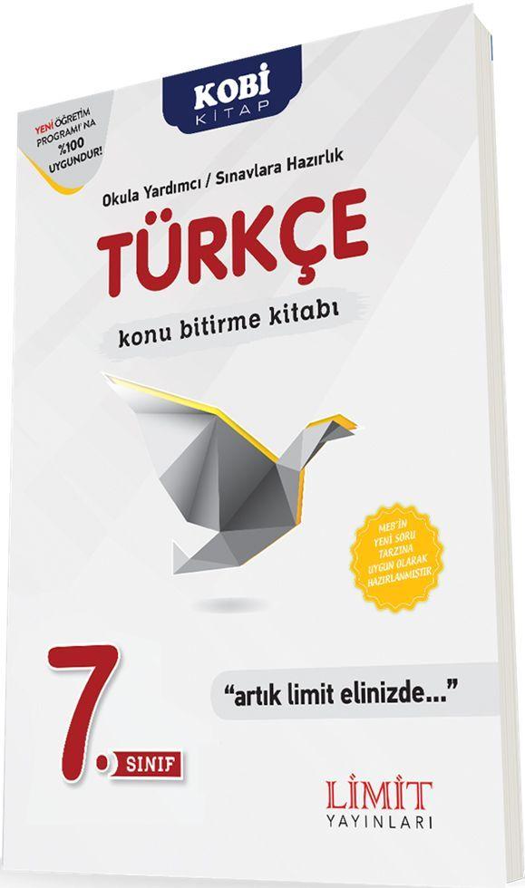 Limit Yayınları 7. Sınıf Türkçe Konu Bitirme Kitabı