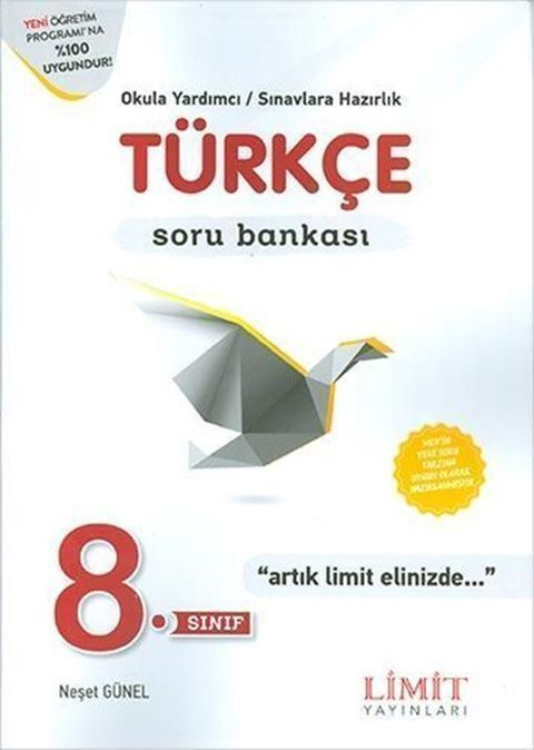 Limit Yayınları 8. Sınıf Türkçe Soru Bankası