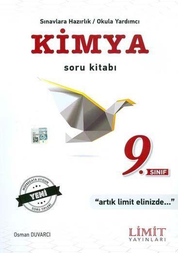 Limit Yayınları 9. Sınıf Kimya Soru Kitabı