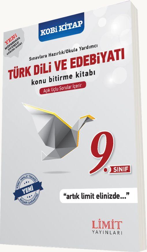 Limit Yayınları 9. Sınıf Türk Dili ve Edebiyatı Konu Bitirme Kitabı