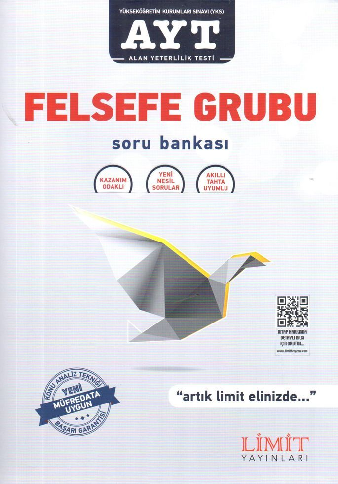 Limit Yayınları AYT Felsefe Grubu Soru Bankası