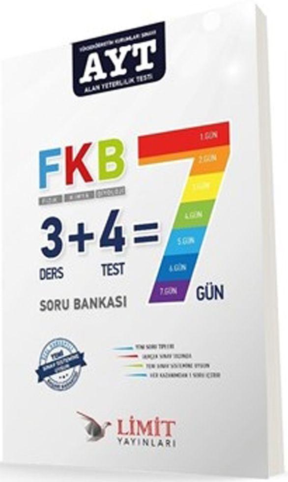 Limit Yayınları AYT Fizik Kimya Biyoloji Soru Bankası