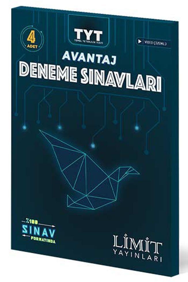 Limit Yayınları TYT Avantaj 4 lü Deneme Sınavları