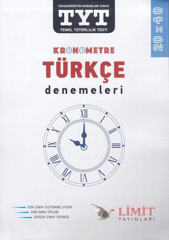 Limit Yayınları TYT Kronometre Türkçe Denemeleri