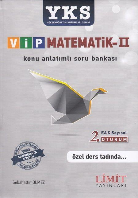 Limit Yayınları YKS VİP Matematik 2 Konu Anlatımlı Soru Bankası