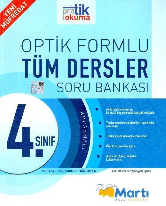 Martı Yayınları 4. Sınıf Optik Formlu Tüm Dersler Soru Bankası