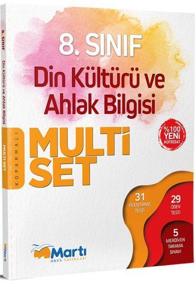 Martı Yayınları 8. Sınıf Din Kültürü ve Ahlak Bilgisi Koparmalı Multi Set
