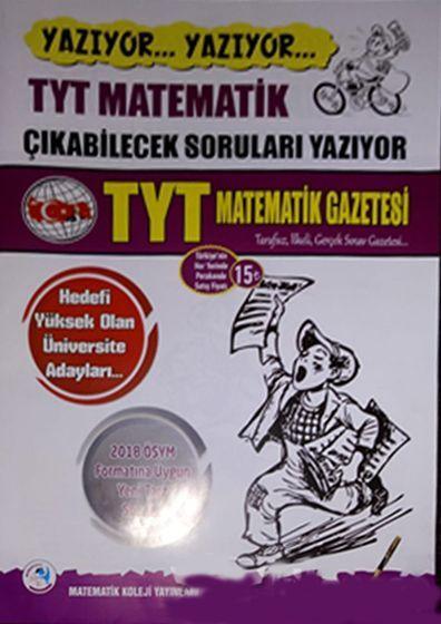 Matematik Koleji Yayınları TYT Matematik Gazetesi