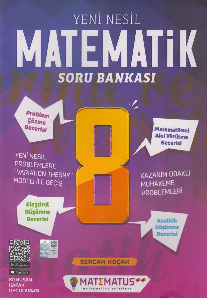 Matematus Yayınları 8. Sınıf Matematik Yeni Nesil Soru Bankası