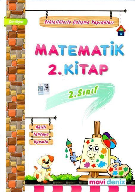 Mavi Deniz 2. Sınıf Matematik Etkinliklerle Çalışma Yaprakları 2. Kitap