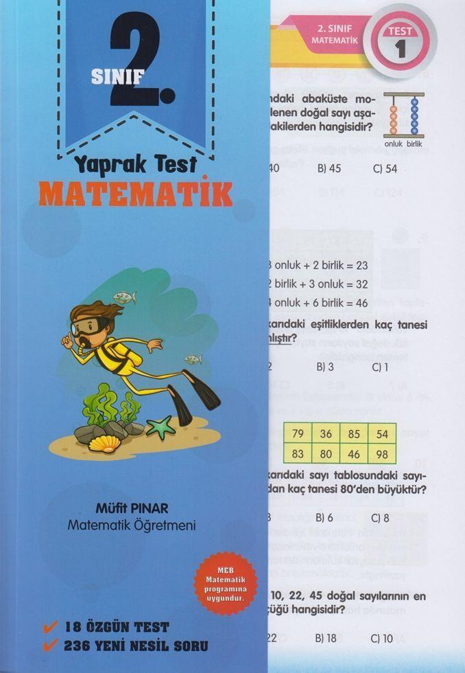 Müfit Pınar 2. Sınıf Matematik Yaprak Test