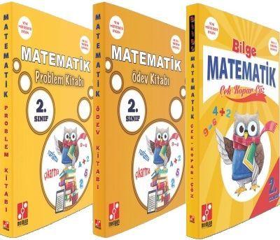Medyan Yayınları 2. Sınıf Matematik Çek Kopar Çöz Ödev Kitabı Problem Kitabı Seti