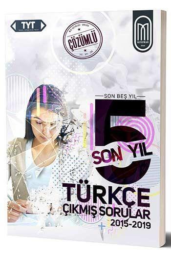 MEG Yayınları TYT Türkçe Son 5 Yıl Çözümlü Çıkmış Sorular