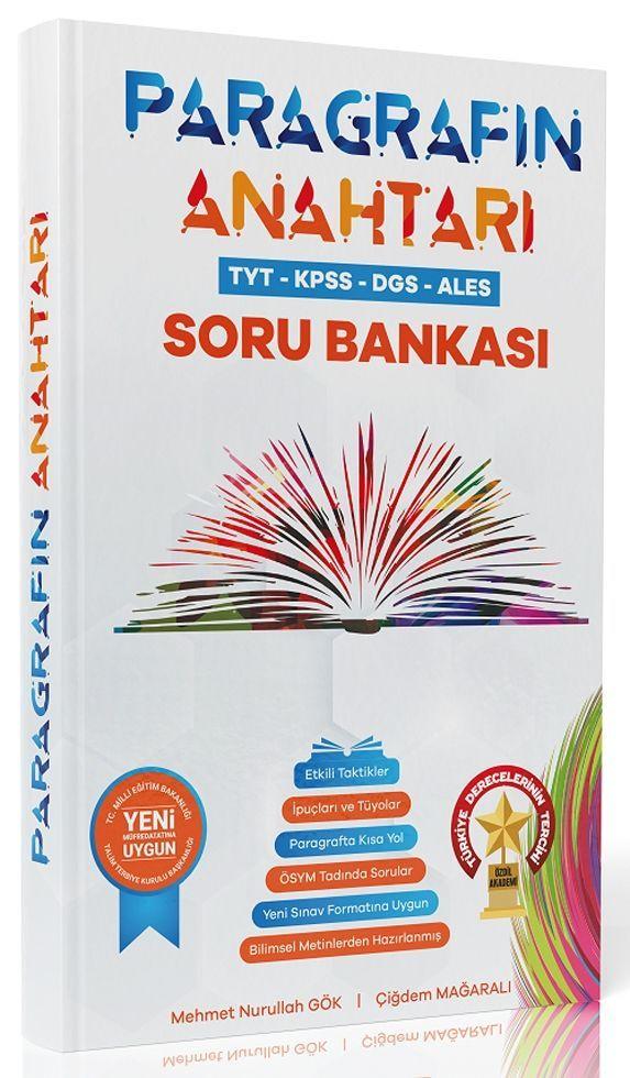 Mehmet Nurullah Gök TYT KPSS ALES DGS Paragrafın Anahtarı Soru Bankası