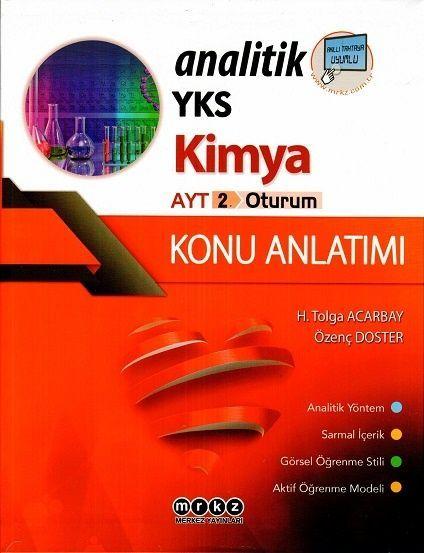 Merkez Yayınları AYT Analitik Kimya Konu Anlatım