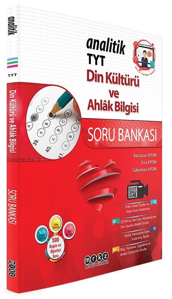 Merkez Yayınları TYT Din Kültürü ve Ahlak Bilgisi Analitik Soru Bankası