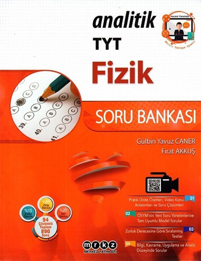 Merkez Yayınları TYT Fizik Analitik Soru Bankası