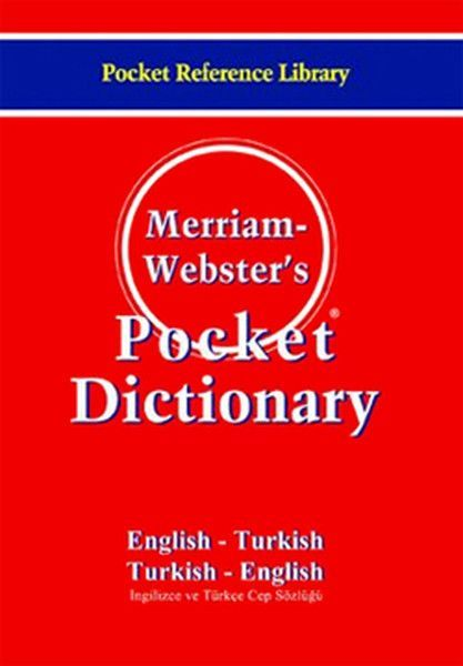 Merriam Webster\'s Pocket Dictionary Cep Boy