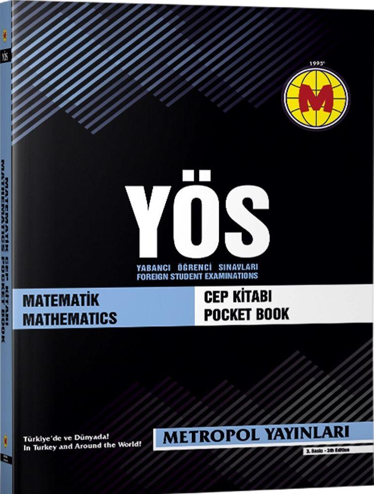 Metropol Yayınları YÖS Matematik Cep Kitabı