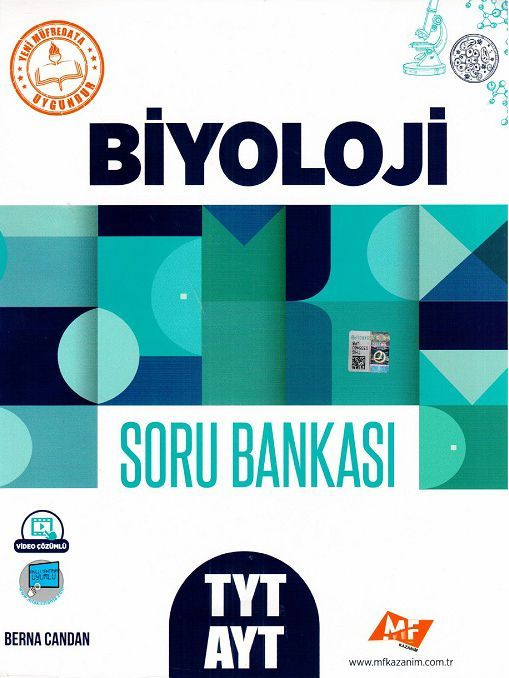 MF Kazanım Yayınları TYT AYT Biyoloji Soru Bankası