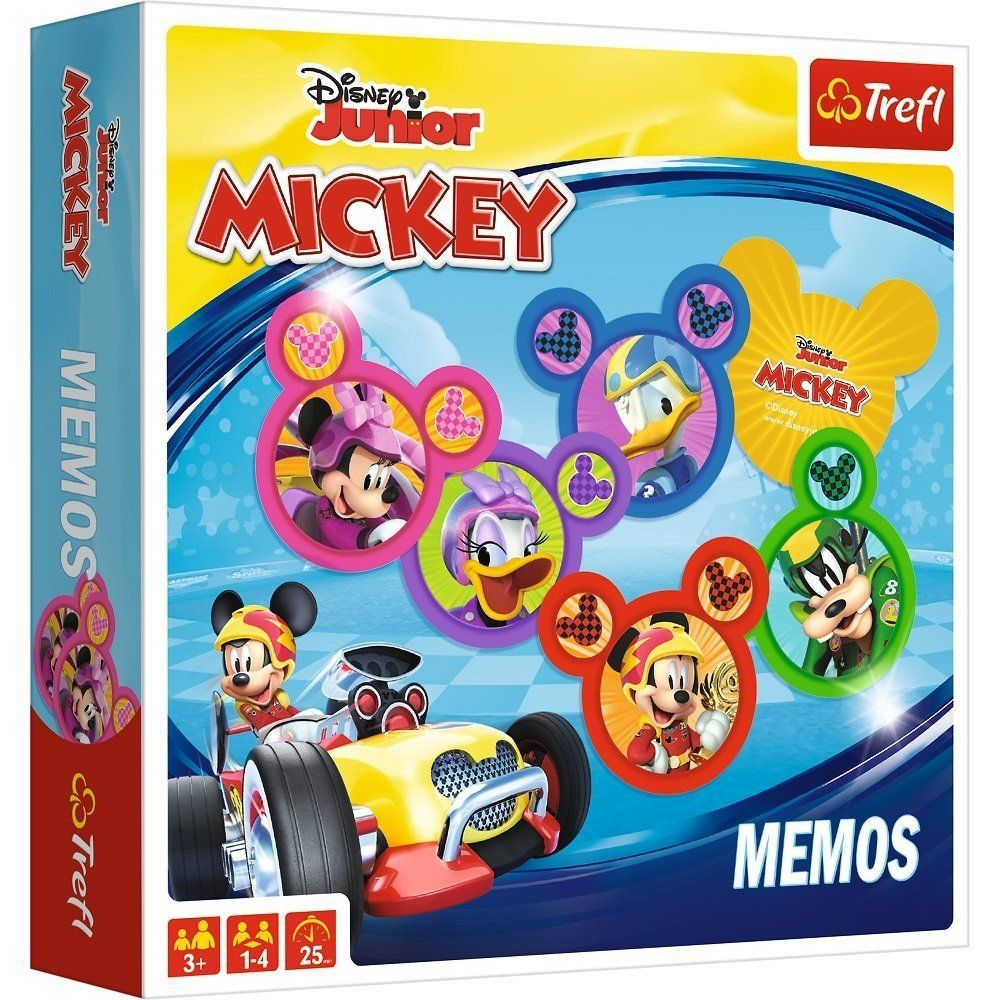 Mickey Mouse Memos Games