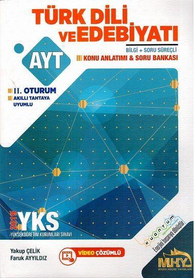 Mikro Hücre Yayınları AYT Kuantum Türk Dili ve Edebiyatı Konu Anlatımı Soru Bankası