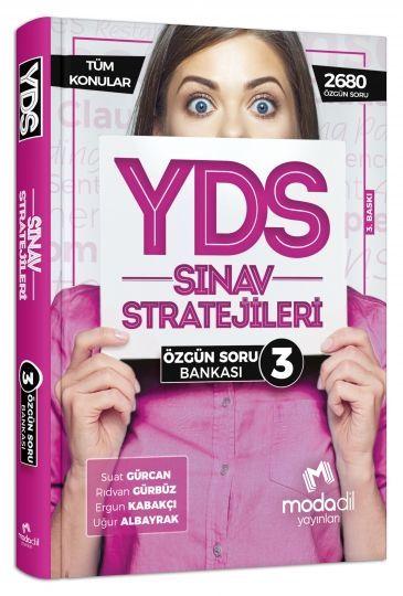 Modadil Yayınları YDS Sınav Stratejileri Özgün Soru Bankası 3
