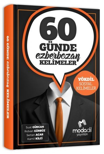 Modadil Yayınları YÖKDİL 60 Günde Ezberbozan Sosyal Kelimeler
