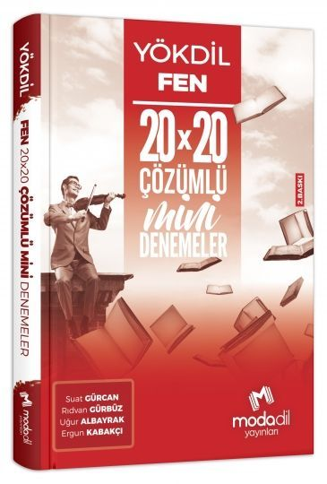 Modadil Yayınları YÖKDİL Fen Bilimleri 20*20 Mini Denemeler